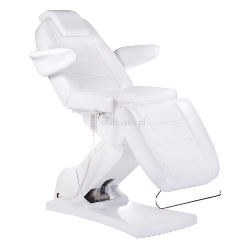 Elektryczny Fotel Kosmetyczny Bologna Bg 228 Biały Clubnails