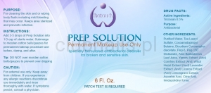 Biotouch Permanent Make-up Prep Solution Pm Solution 6oz 177ml