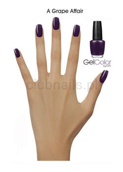 OPI - GelColor - A Grape Afair - *COCA-COLA & OPI COLLECTION 2014* #GCC19