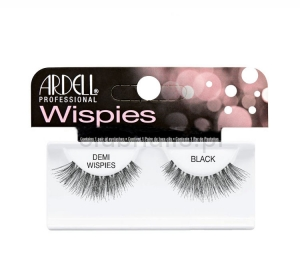 ARDELL BLACK LASHES DEMI WISPIES