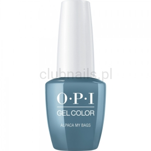 GCP33 OPI GEL COLOR- Alpaca My bags (Peru collection)