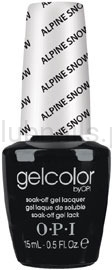 OPI - GelColor - Alpine Snow *THE CLASSIC COLLECTION 2007* #GCL00