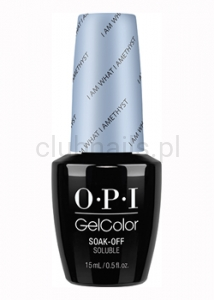 OPI - GelColor - I Am What I Amethyst *SOFT SHADES COLLECTION 2016* #GCT76