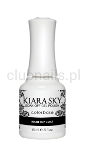Kiarasky Gel Polish  MATTE TOP COAT