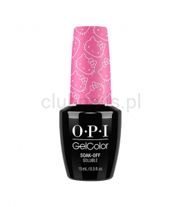 OPI - GelColor - Super Cute In Pink *HELLO KITTY COLLECTION 2016* #GCH87