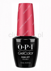 OPI - GelColor - Having a Big Head Day *ALICE THROUGH THE LOOKING GLASS COLLECTION 2016* (C) #GCBA7