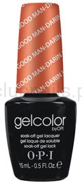 OPI - GelColor - A Good Man-darin is Hard to Find *HONG KONG COLLECTION 2010* #GCH47