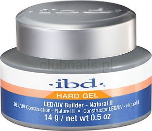 IBD NATURAL II BUILDER GEL 14G! LED/UV NOWOŚĆ (1)