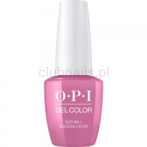GCP31 OPI GEL COLOR- Suzi will Quechua Later! (Peru collection)