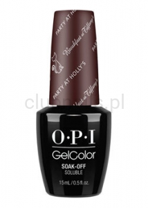 OPI - GelColor - Party at Holly's *BREAKFAST AT TIFFANY'S COLLECTION 2016* (C) #HPH17