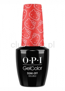 OPI - GelColor - 5 Apples Tall *HELLO KITTY COLLECTION 2016* #GCH89
