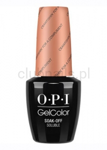 OPI - GelColor - Crawfishin' for a Compliment *NEW ORLEANS COLLECTION 2016* (C) #GCN58