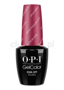 OPI - GelColor - OPI by Popular Vote *WASHINGTON DC COLLECTION 2016* (C) #GCW63