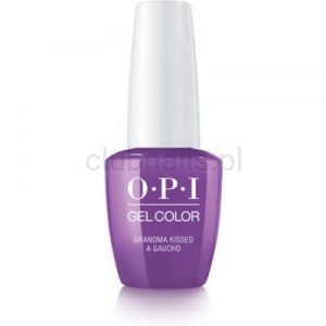 GCP35 OPI GEL COLOR- Grandma Kissed a Gaucho (Peru collection)