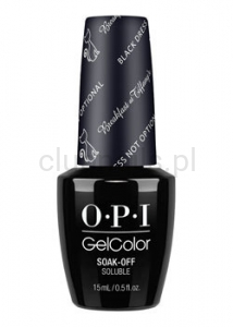 OPI - GelColor - Black Dress Not Optional *BREAKFAST AT TIFFANY'S COLLECTION 2016* (S) #HPH03