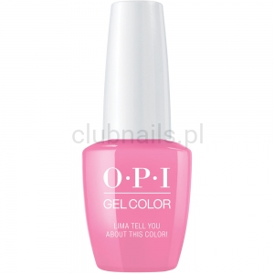 GCP30 OPI GEL COLOR- Lima Tell You About This Color (Peru collection)