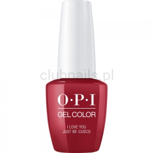 GCP39 OPI GEL COLOR- I Love You Just Be-Cusco (Peru collection)
